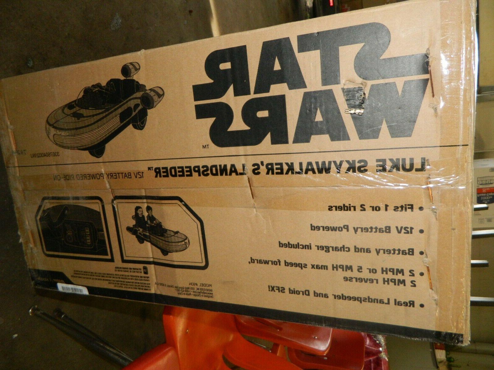 Disney Star Wars Ride Wheels