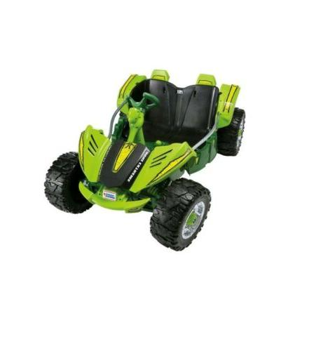Power Wheels Dune 12-V Extreme Ride Vehicle Green Operated