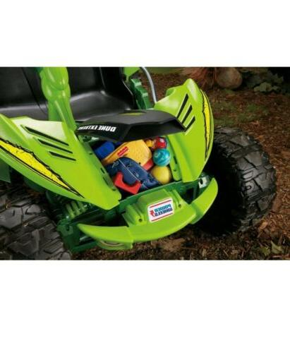 Power Wheels 12-V On Vehicle - Green Operated