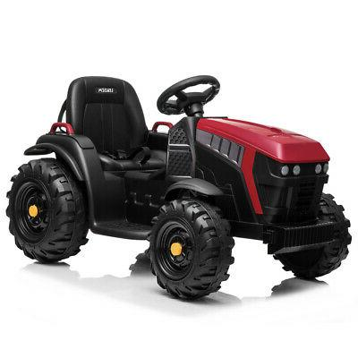 Electric 12V On Tractor Battery Wheels Music Trailer