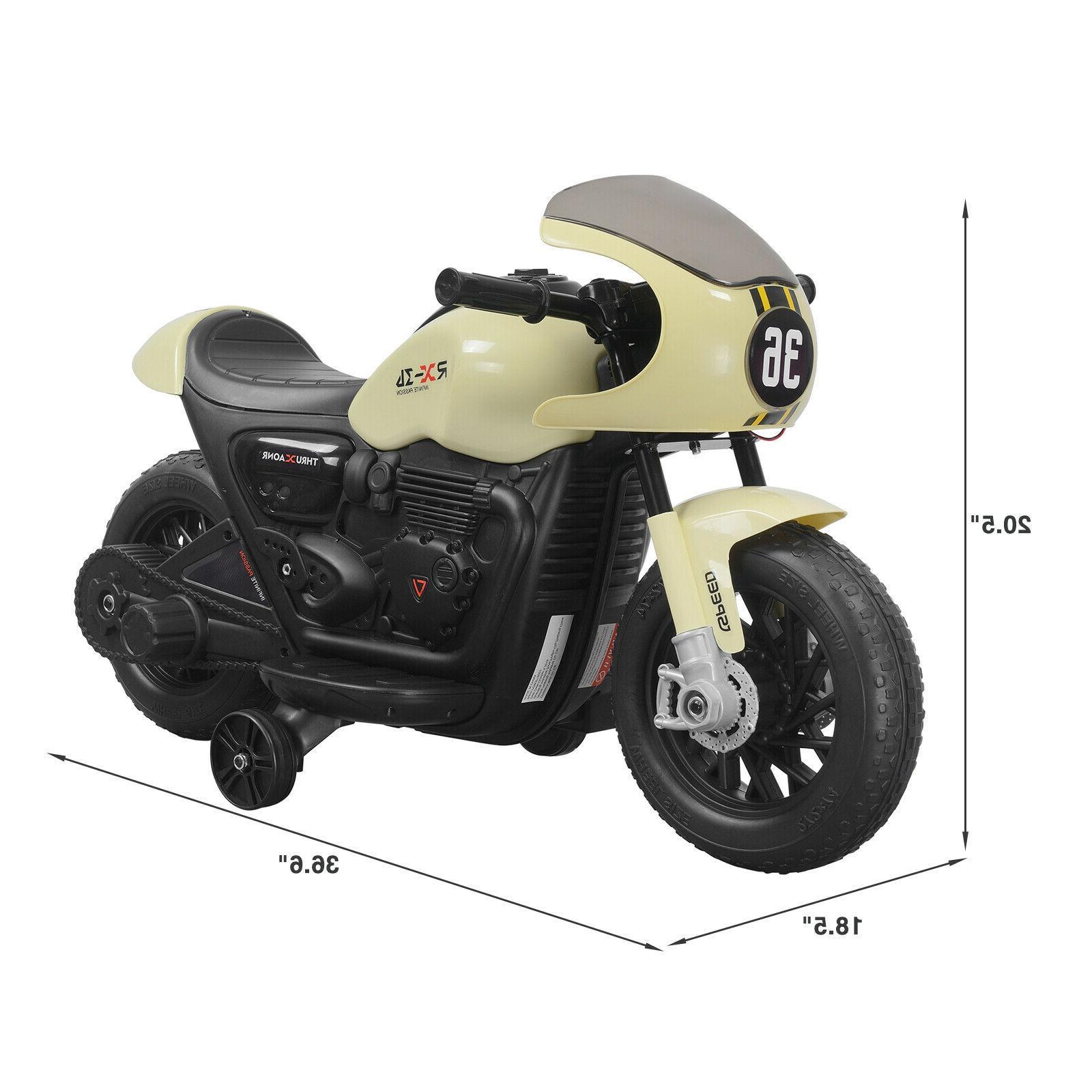 Electric 6V Kids Ride On Motorbike MP3