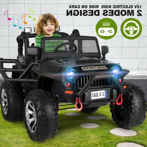 electric 6v kids ride on motorcycle driving