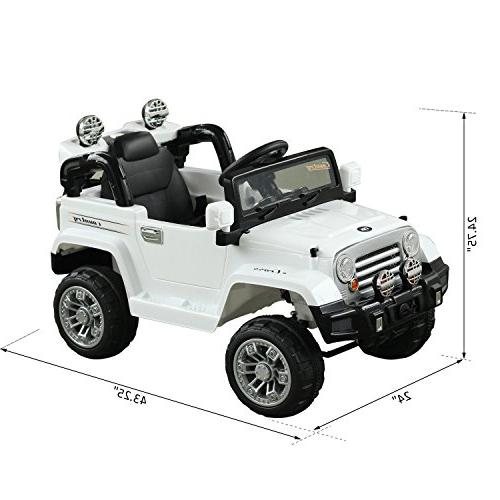 Aosom 12V Jeep Ride Remote