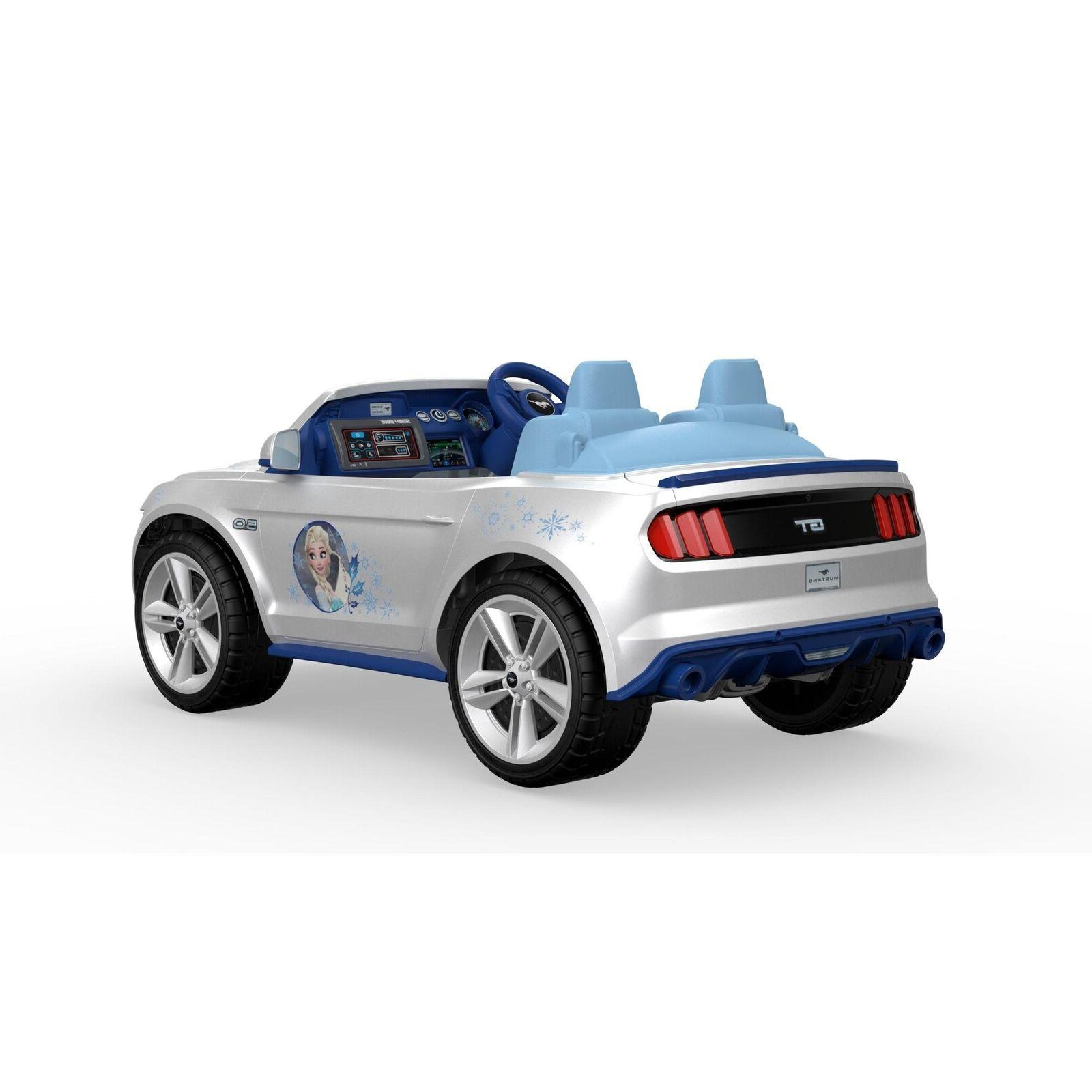 Electric To Ride Frozen Ford Mustang Vehicle