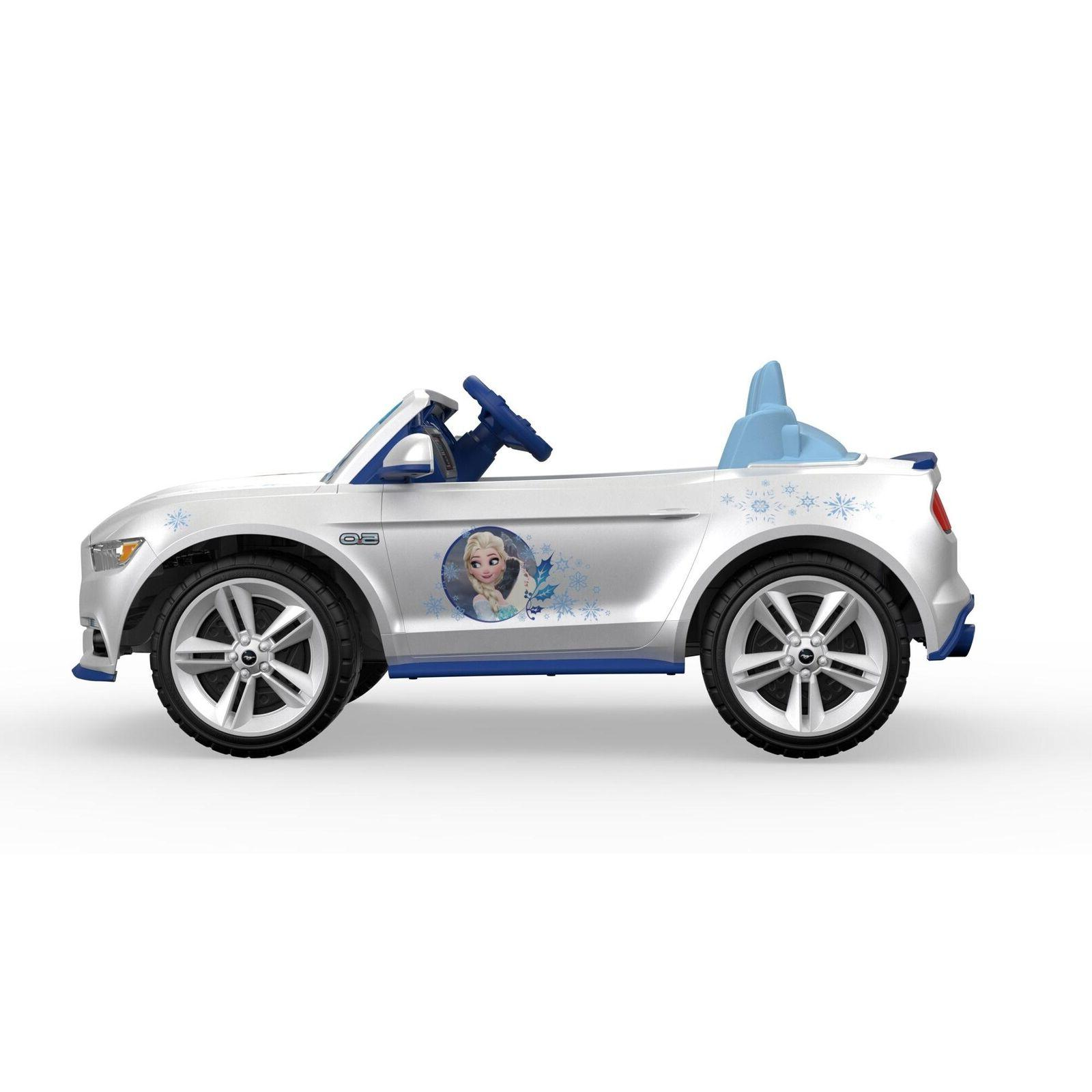 Electric To Ride On Disney Frozen Ford Mustang Motorized Vehicle