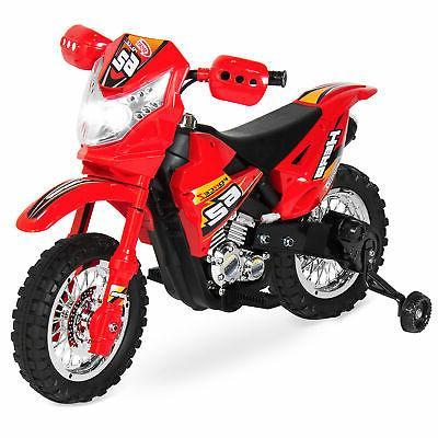 electric kids ride motorcycle dirt