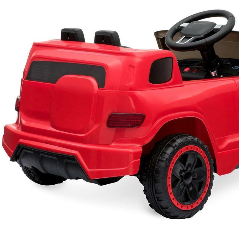 Electric Kids Ride-On Car 6V Control LED