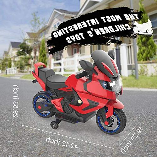 HOVERHEART Motorcycle 6V Ride Bike