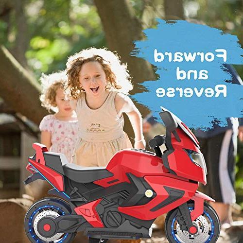 HOVERHEART Kids Motorcycle Ride On Bike
