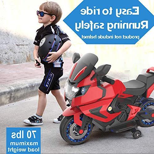 HOVERHEART Kids Motorcycle On Bike