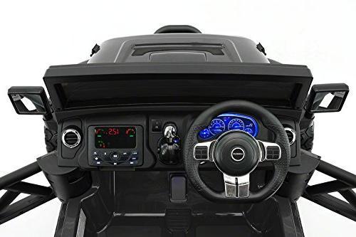 Moderno Kids 2 Seater 12V Children Ride-On Car R/C Parental + EVA LED Wheels + Seat MP3 Music Player FM Lights