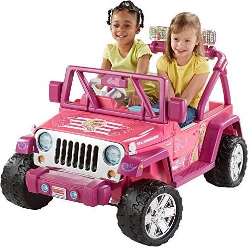 fisher barbie deluxe jammin jeep