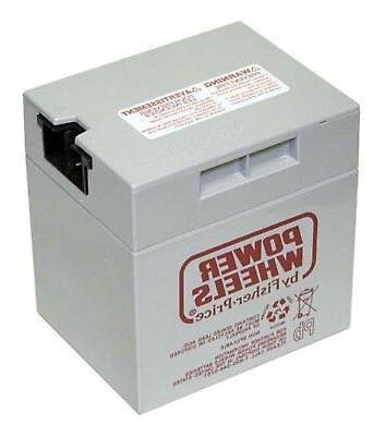 Fisher Price 12 Volt Power Wheels Gray Battery - 00801-0638