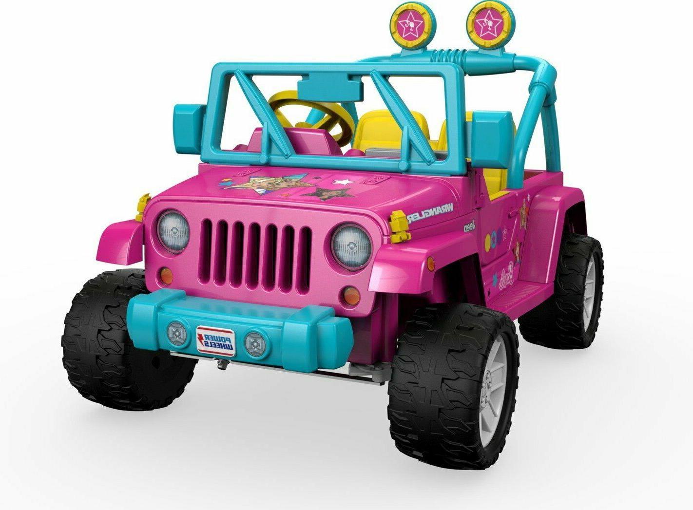 fisher price power wheels barbie jeep wrangler