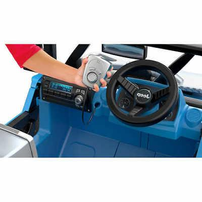 Fisher-Price Power Jeep Ride-On