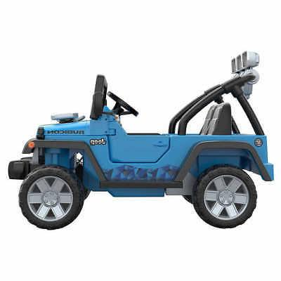 Fisher-Price Power Deluxe Jeep Rubicon 12V Ride-On