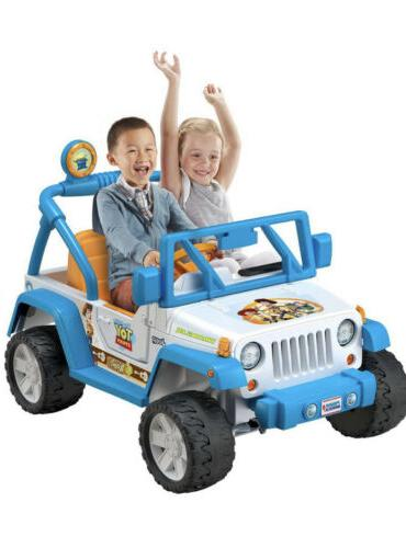 fisher price power wheels disney pixar toy