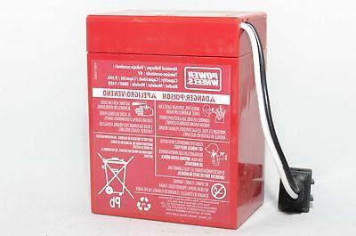 Fisher Power Red Super 6V Battery