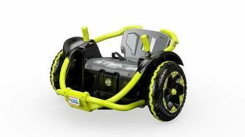 power wheels wild thing green