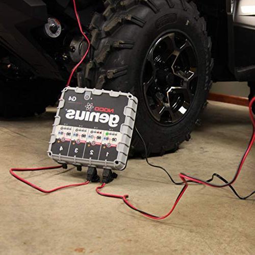 NOCO G4 6V/12V 4.4 Amp 4-Bank Battery Trickle Charger
