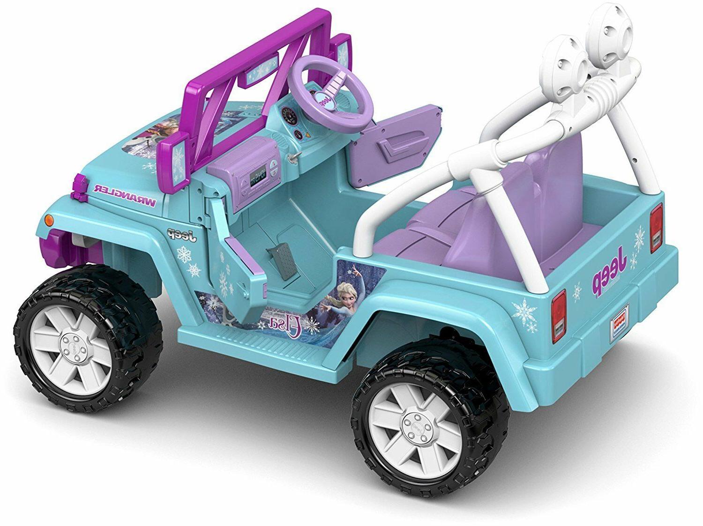 Power Wheels Jeep Kids Motorized Frozen Car Ride Disney