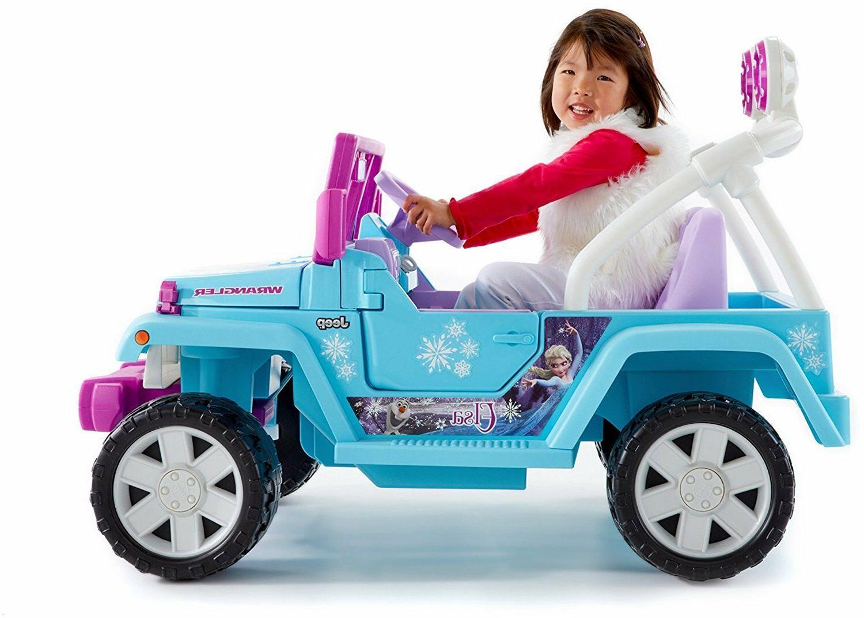 Power Jeep Frozen Ride Disney