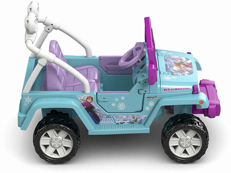 Power For Frozen Car Ride Disney