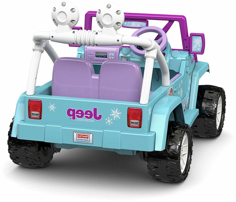 Power Wheels For Jeep Motorized Frozen Car Disney