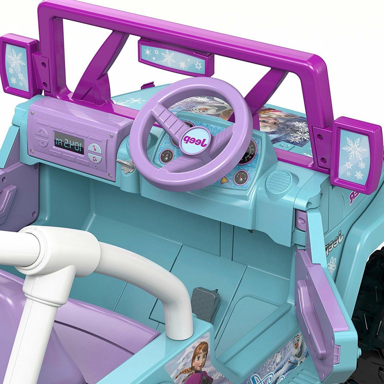 Power Jeep Motorized Frozen Disney