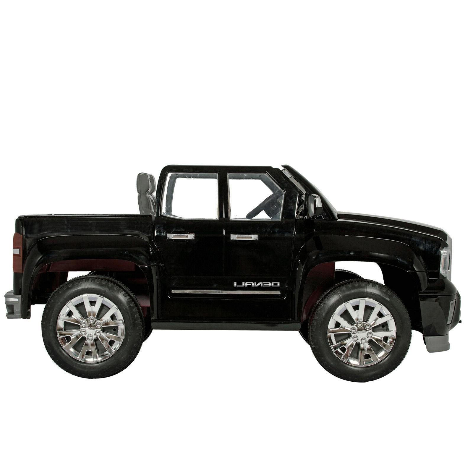 Rollplay Sierra Vehicle, Black
