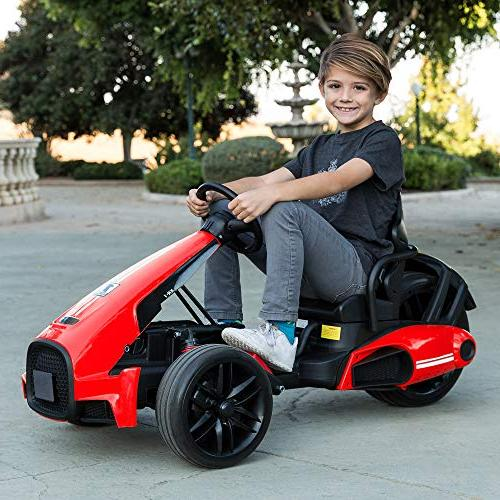 Best Choice Products 12V Kids Go-Kart Car Foot 2 Spring