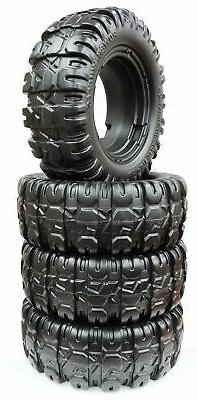 Power Wheels Jeep Hurricane, 4pk Front and Rear tires, J4394