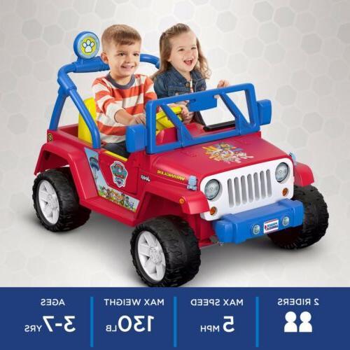 jeep paw patrol