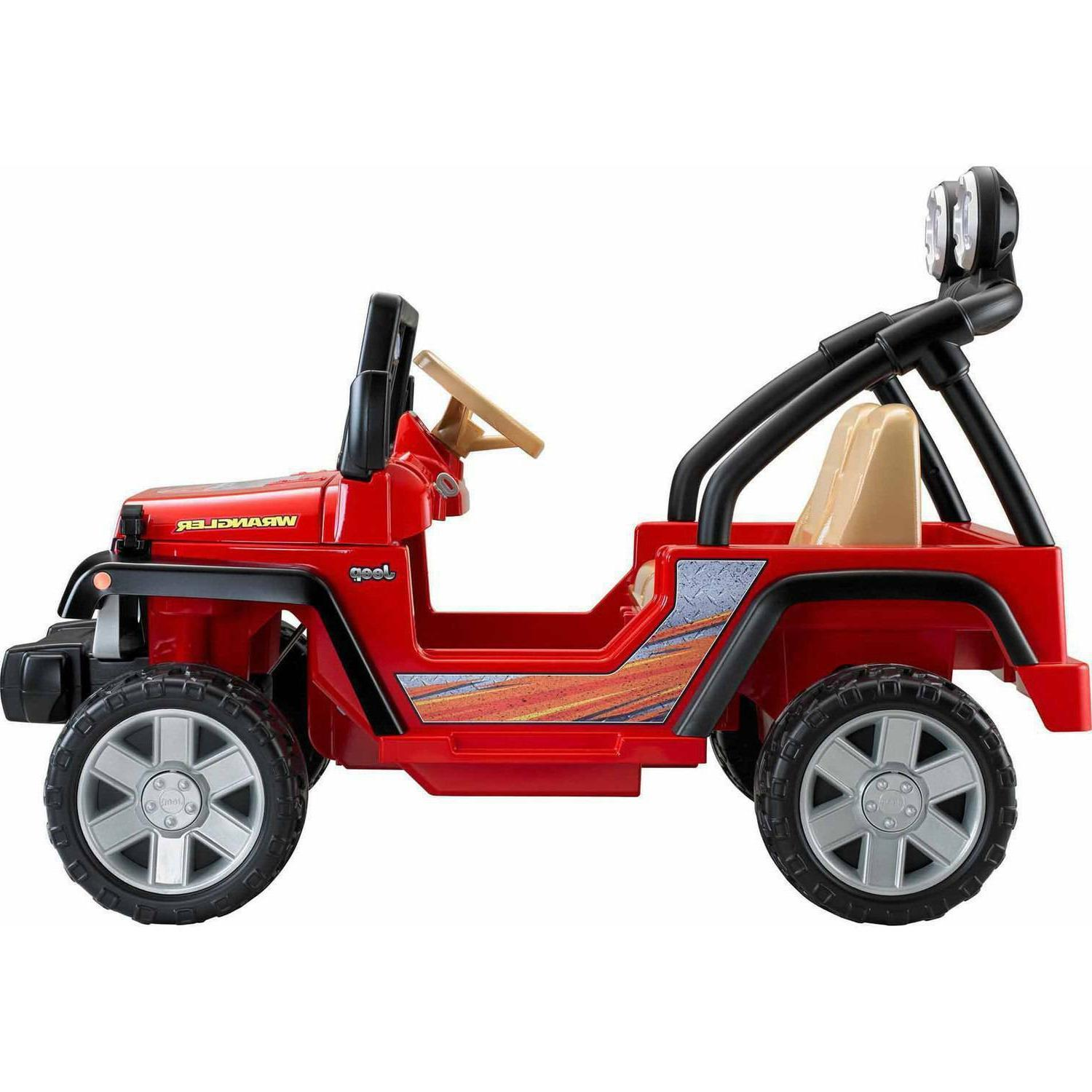 Power Jeep 12-Volt Ride-On, Red