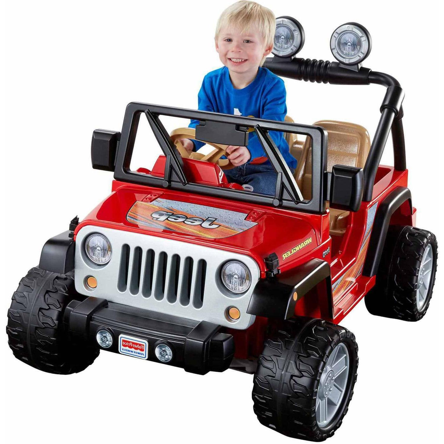 jeep wrangler 12 volt battery powered ride
