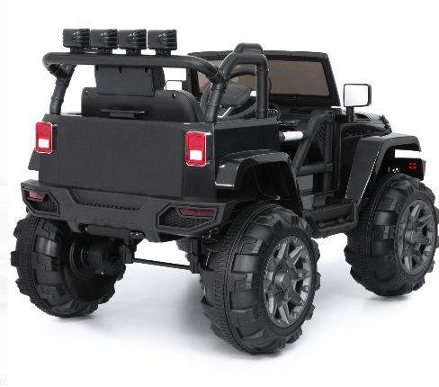Jeep Wrangler Volt Ride On Truck Parental Remote Control 3 LED