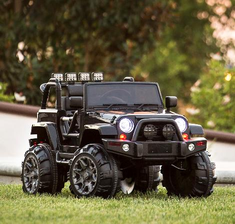Jeep Wrangler 12 Ride Remote Control LED