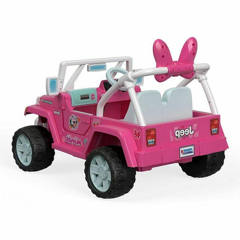 Power Wheels® Jeep® featuring Minnie Happy Helpers