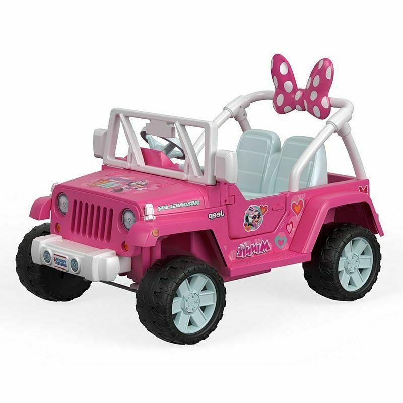 Power Wheels® Jeep® Wrangler featuring Disney Minnie Helpers