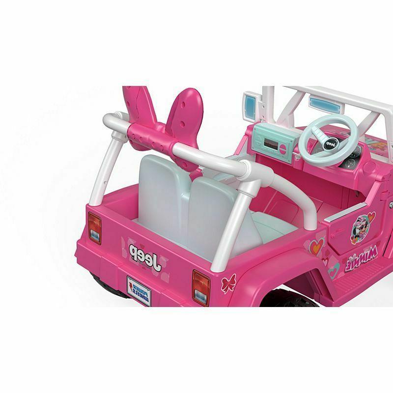 Power Jeep® Wrangler featuring Disney Minnie Helpers