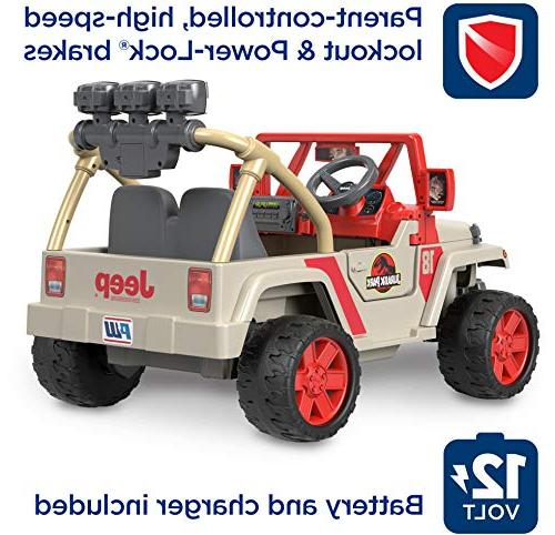 Power Wheels Jurassic World, Jeep