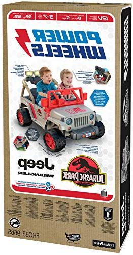 Power Wheels Jurassic Jeep