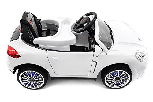 2019 Best Car - Ride On Licensed on to Includes Control, Speeds, Dining Table, Leather Seat, Rubber Tires -