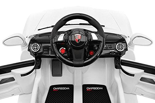 2019 Car Ride On Licensed Ride on Car to Drive Remote Control, 3 Speeds, Table, Tires -