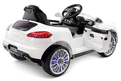 2019 Car Ride Car, Battery Licensed to Drive Includes Control, 3 Speeds, Table, Seat, Rubber Tires
