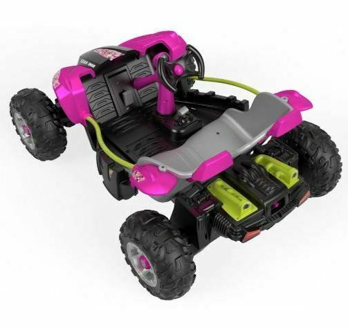 Kids Power Volt Ride On Dune Pink And