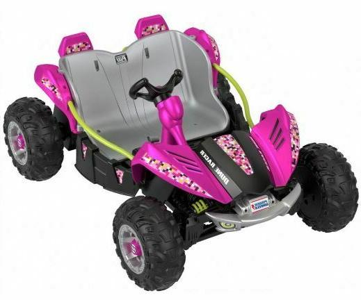 Kids Power Volt Battery On Pink And