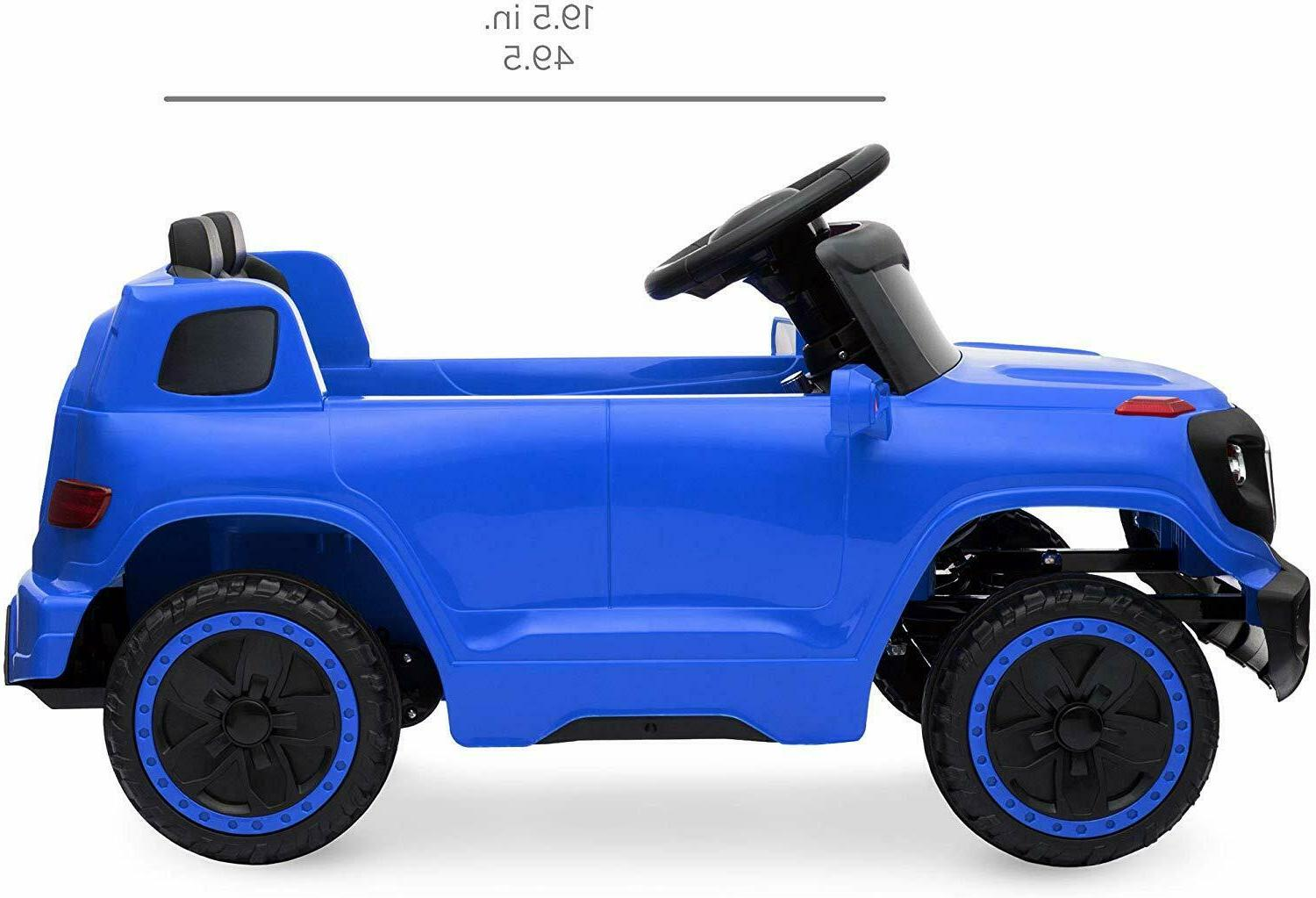 Kids CarsRide Power Wheels Control LED MP3 Toy