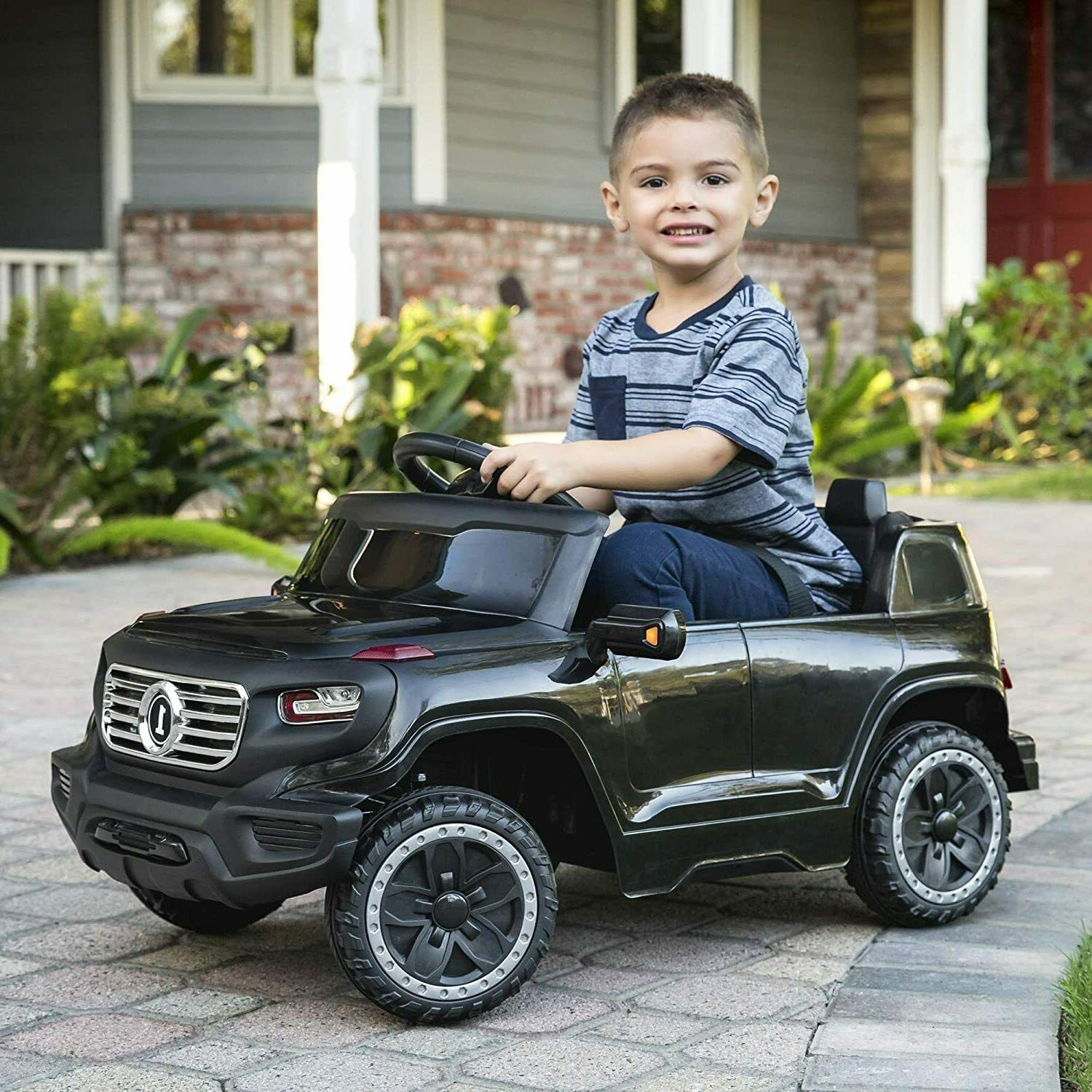 Kids CarsRide Power Wheels Control LED Toy