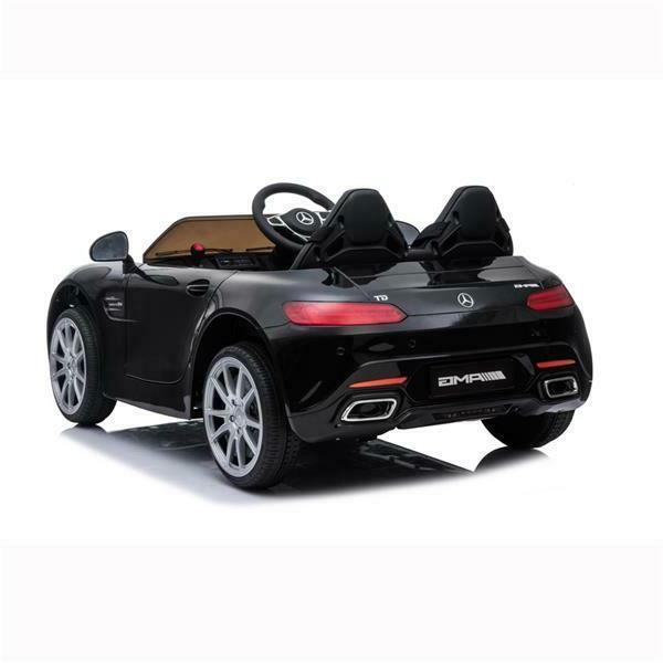 Kids Mercedes On Car Power Wheels Control MP3 LED